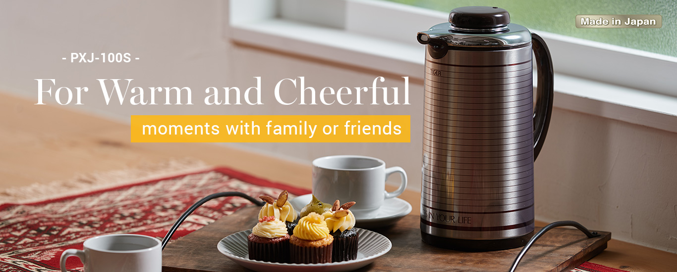 For warm and cheerful moments with family or friends